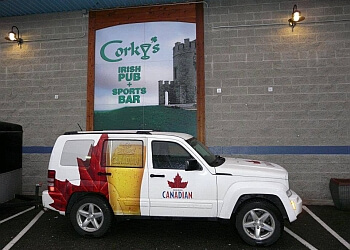 Chilliwack sports bar Corky's Irish Pub & Sports bar