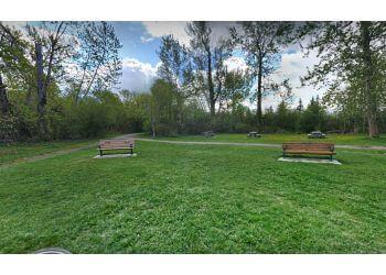 Prince George public park Cottonwood Island Nature Park