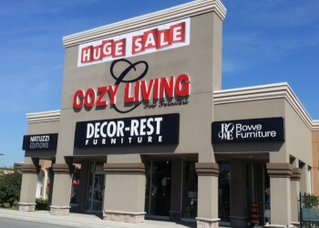 Pickering furniture store Cozy Living Inc.