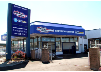 Richmond auto body shop Craftsman Collision