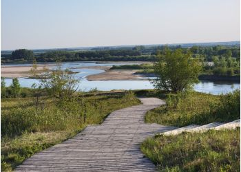Saskatoon hiking trail Cranberry Flats Conservation Area