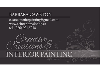 Stratford painter Creative Creations & Interior Painting