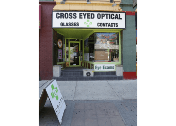 London optician Cross Eyed Optical