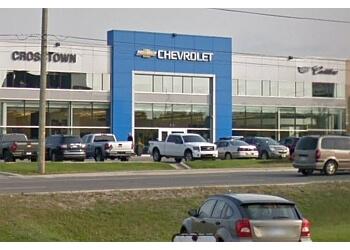 Sudbury car dealership Crosstown Chevrolet Buick Cadillac GMC Ltd.