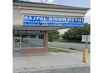Brampton immigration consultant Crown Immigration Corporation