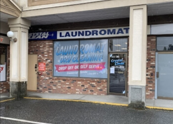 Nanaimo dry cleaner Crystal Clean Laundromat