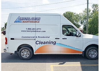Fredericton window cleaner Crystal Clean Maintenance