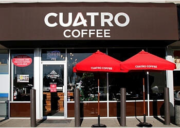 Surrey cafe Cuatro Coffee