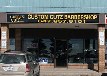 Pickering barbershop Custom Cutz Barbershop