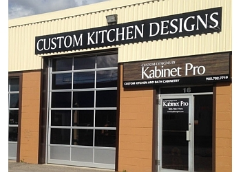 Halton Hills custom cabinet Custom Designs by Kabinet Pro