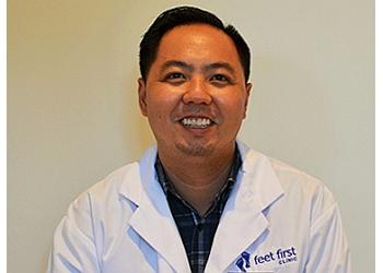 Toronto chiropodist Dr. Cyrus Florendo, D.CH