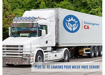 Laval moving company Déménagement CA