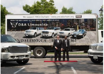 Ajax limo service D&A Limo