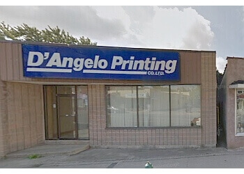 Welland printer D'Angelo Printing Company Ltd.