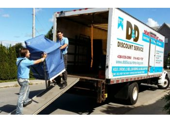 Montreal moving company D&D Discount Moving