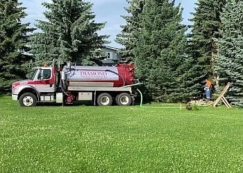 Edmonton septic tank service DIAMOND VACUUM  SERVICE LTD.