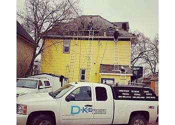 Winnipeg roofing contractor DKC Construction