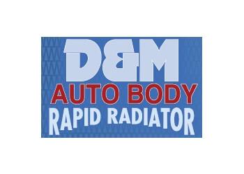 Fredericton auto body shop D & M Auto Body Repair