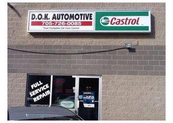 Barrie car repair shop D O K Automotive