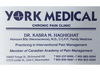 Richmond Hill primary care physician DR. KASRA MIKE HAGHIGHAT, MD., C.C.F.P.
