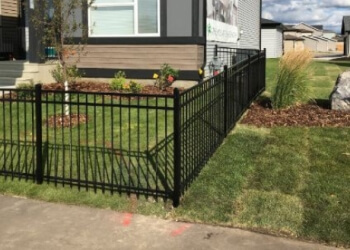 Edmonton fencing contractor DURAGUARD FENCE LTD.