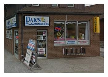 Windsor florist Dak's Flowers