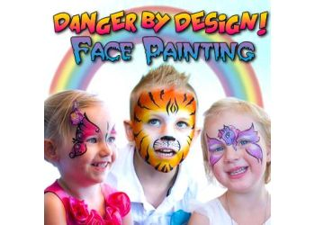 Victoria face painting Danger By Design