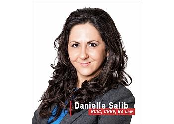 Moncton immigration consultant Danielle Salib