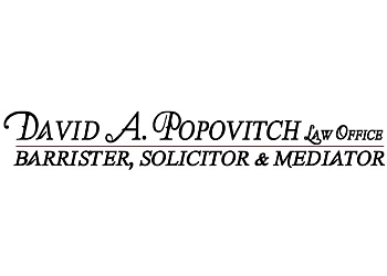Lethbridge divorce lawyer David A. Popovitch Law Office