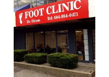 North Vancouver podiatrist David Dixon, DPM
