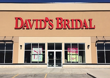 Winnipeg bridal shop David's Bridal