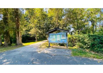 Delta hiking trail Deas Island Regional Park