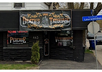 Laval tattoo shop Death's Ink Tattoo Shop