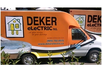 Halton Hills electrician Deker Electric Ltd.
