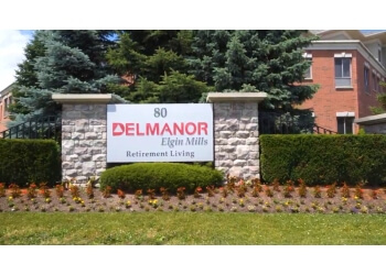Richmond Hill retirement home Delmanor Elgin Mills
