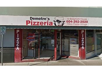 Chilliwack pizza place Demetre's Pizza