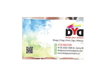 Design Your Dreams Surrey Printers
