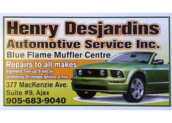 Ajax car repair shop Desjardins Henry Automotive Inc.