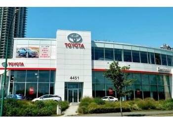 Burnaby car dealership Destination Toyota