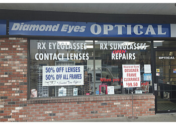 Nanaimo optician Diamond Eyes Optical