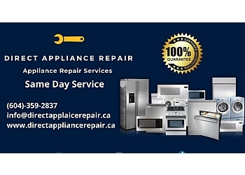 Burnaby appliance repair service Direct Appliance Repair