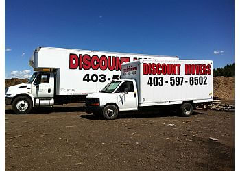 Red Deer moving company Discount Movers