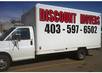Red Deer moving company Discount Movers Ltd.