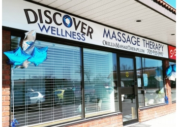 Orillia massage therapy Discover Wellness Massage Therapy