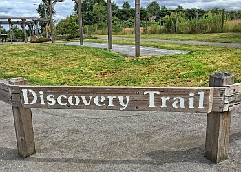 Abbotsford hiking trail Discovery Trail
