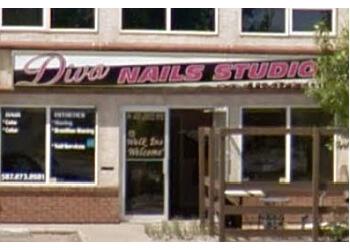 Red Deer nail salon Diva Nails Studio