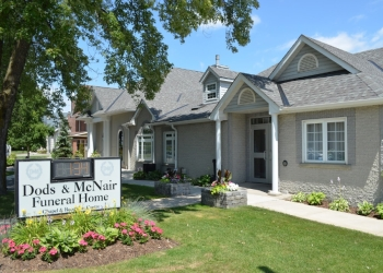 Orangeville funeral home Dods & McNair Funeral Home