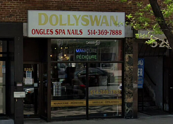 Montreal nail salon Dollyswan Ongles Spa