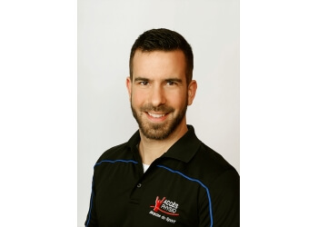 Longueuil physical therapist Dominic Labelle, PT