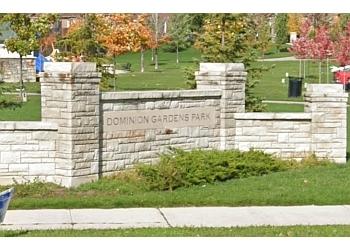 Halton Hills public park Dominion Gardens Park